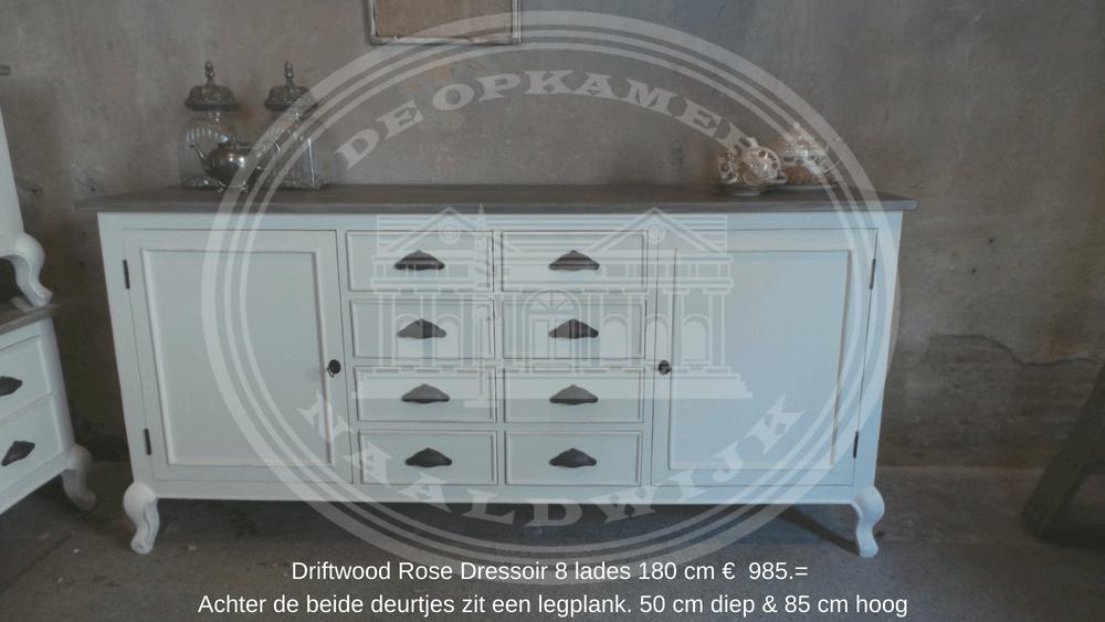 Landelijke Driftwood Rose tafels  u0026 kasten