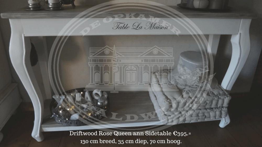 landelijke sidetable marktplaats : Landelijke Driftwood Rose Tafels Kasten