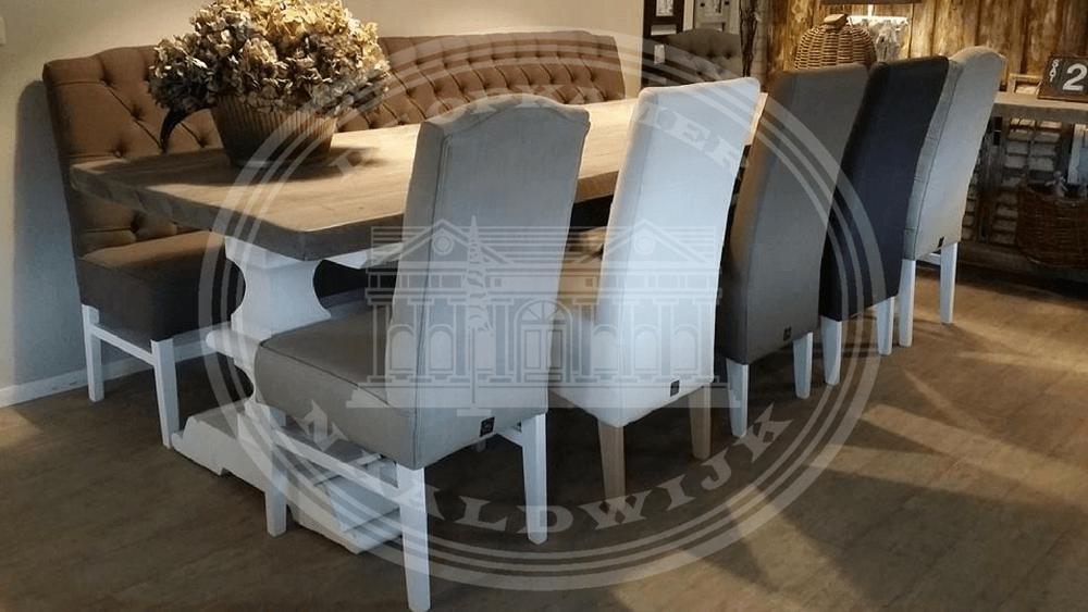 Kloostertafel Oud Hout.Robuuste Massieve Kloostertafels Atelier De Brocante