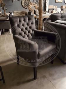 Landelijke eetkamerstoelen met armleuning atelier de for Landelijke eethoekstoelen